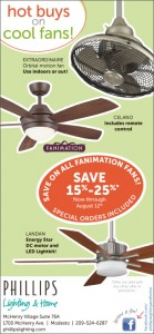 Save on all FANIMATION ceiling fans