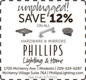 Unplugged sale - save on all hardware and mirrors