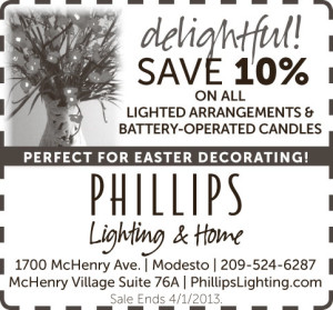 Lighted Arrangements Perfect for Easter Decorating