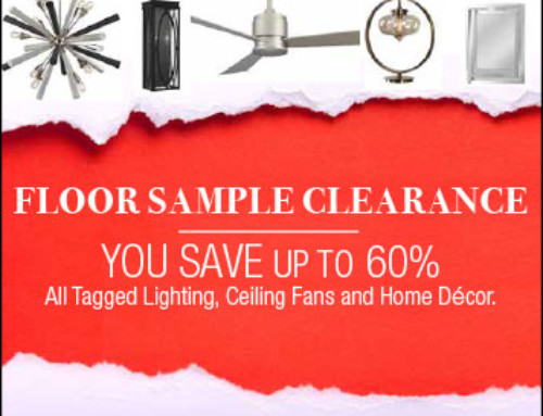 Floor Sample Clearance Up to 60% Off!