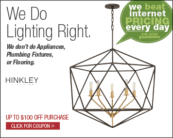 We Do Lighting Right - Click for Coupons