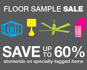Floor Sample Sale Save up to 60% in-store